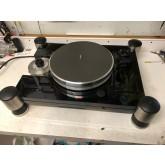 """VPI TNT upgraded  JMW 12""""  tonearm, current 20lb stainless platter, rebuilt motor, modern hrx type suspension corners"""
